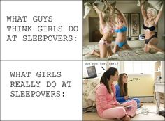 Sleepovers. For Real.
