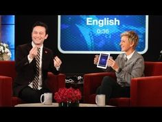 THE ACCENT GAME. JOSEPH GORDON LEVITT and ELLEN DEGENERES▶ Joseph Gordon-Levitt Does Accents with 'Heads Up!' - YouTube