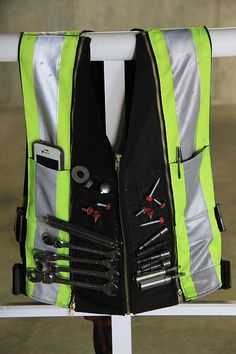 New! Magnetic tool vest! Say hello to the newest tool belt replacment