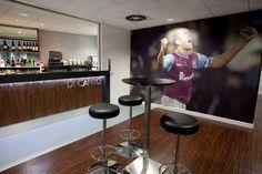 Paulo Di Caneo Lounge, Boleyn Ground, Upton Park   #interior #fitout by Cumberland Group   #lounge #bar #bespoke #joinery
