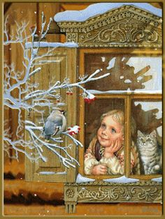 Thank you,Mom ! You are an angel on Earth ! You read my heart.I wished this morning to be back on your boards. Thank You Mom, Winter Images, Cartoon Gifs, Snow Scenes, Early Childhood, Beautiful Images, Animated Gif, Happy Holidays, Fairy Tales