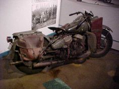 WESTERN NC, MAGGIE VALLEY NC- Wheels Through Time Museum- My husband loves this place!  Lots of older motorcycles and antiques.  1942 wla, museum, vintage and antique, museum - Wheels Through Time