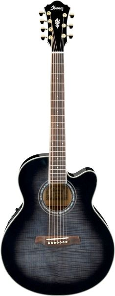 Another guitar I'd love to own—a seven-string acoustic. Want to hear that low string ring!