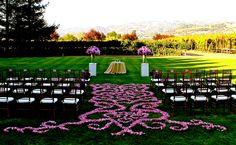 Read More: http://www.stylemepretty.com/california-weddings/2014/10/21/fleurs-de-france/