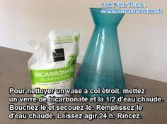 Comment Nettoyer un Vase Étroit ? L'Astuce Facile et Sans Effort. Thing 1, Effort, Housekeeping, Cleaning Supplies, Vase, Good Things, Bottle, Tips, Mary Poppins