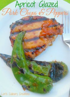 Apricot Glazed Pork Chops. These are grilled up perfectly with a delicious sauce. Perfect recipe for dinner.