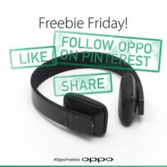 Once again Ofans we are giving you another chance to win an awesome pair of bluetooth headphones. The rules are simple; follow OPPO on Pinterest and then Pin the giveaway post to any of your boards. A winner will once again be randomly selected next week. Good luck!