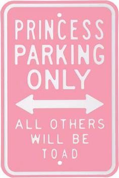 only for pink princesses