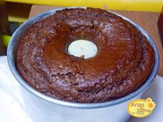 Artes da Sadhia na cozinha : Bolo de chocolate de liquidificador