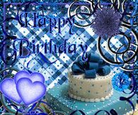 Happy Birthday Pictures, Photos, and Images for Facebook, Tumblr, Pinterest, and Twitter Happy Birthday Wishes Spanish, Happy Blessed Birthday, Purple Happy Birthday, Happy Birthday Music, Happy Birthday Flower, Happy Birthday Candles, Happy Birthday Balloons, Happy Birthday Gifts, Colorful Birthday