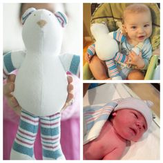 You Can Have Your Baby's First Blanket Turned Into A Stuffed Animal
