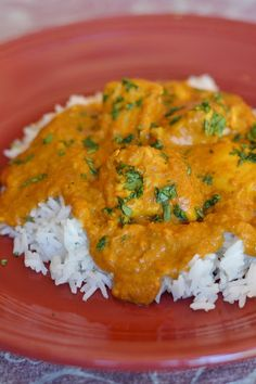 Crock pot chicken curry
