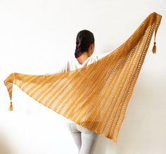 How to knit Stormy Sky Shawl