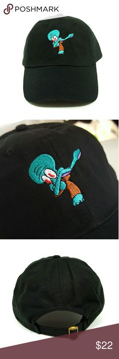 Dabbing Squidward Hat $$******READ DESCRIPTION*****$$ *New adjustable hat *If posted still available *I ship next day if purchased before 5 PM on Sunday and 7.30 PM every other day, if purchased after hours it will be shipped the day after tomorrow *Shipping takes about 5 days please don't rate based off shipping speeding i don't control USPS *Trusted seller buy with confidence. Accessories Hats