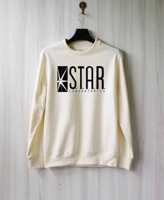 Also amazing sweatshirt/The Flash gear :) Star Laboratories Shirt Star Labs Sweatshirt Sweater by SaBuy