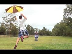 Trick Shot Battle. I thought it was going to be cheesy until 1:49 in...