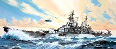 1944 USS Missouri - Danijel Frka