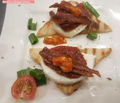 fischi`s cooking and more....: bruschetta mozarella e pomodoro
