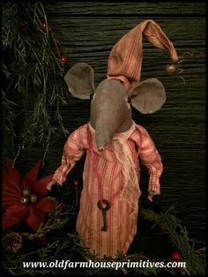 #LT53 Primitive Cellar Dweller Mouse (Made In USA)