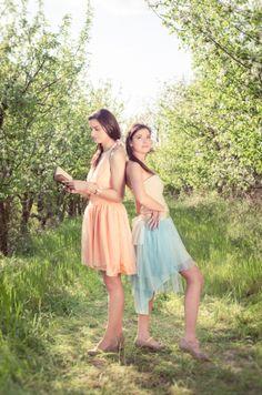 Spring fairies/ Tavasztündérek http://harufoto.hu/  Clothes, jewellery and style: Rose Workshop  Ruha ékszer és stílus: Rózsa Műhely