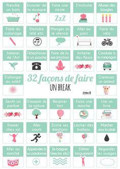 32 façons de faire un break   #Conseils_Sport_Lotus