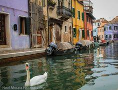 Burano - a rainbow of colors, at Travel Photo Mondays #Burano #Venice #italy