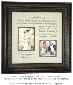 Wedding on Pinterest Parent wedding gifts, Wedding gifts for parents ...