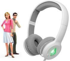 SteelSeries Sims 4 białe z mikrofonem (nauszne) - Słuchawki - Satysfakcja.pl - słuchawki do telefonu / słuchawki w podróży - Kolorowe słuchawki :) gadżety Sims 4