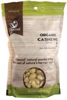 Vitacost Organic Whole Raw Cashews Unsalted Large