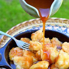 Faikakai Topai – Dumplings in Sweet Coconut Sauce