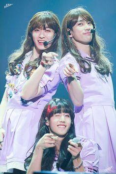 When bae is far more prettier than you. *dead <3 ^-^