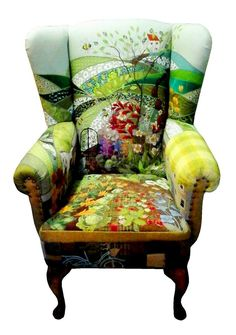 Rustique Interiors makes these great patchwork furniture covers.