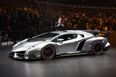 The Lamborghini Veneno. 740-hp V12 powered. $4,000,000