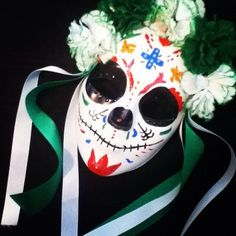 Day Of The Dead Dia de Los muertos Mask