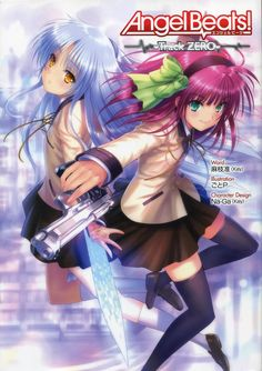 Track Zero The Light Novel Is Official Prequel To Anime Series It Tells Story Of How Yuri And Hinata Meet They Find Out About Angel