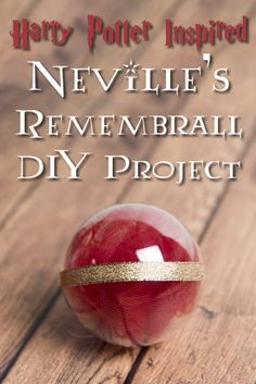 Feel like you're forgetting something? This DIY tutorial will let you make your own Harry Potter-inspired Remembrall!