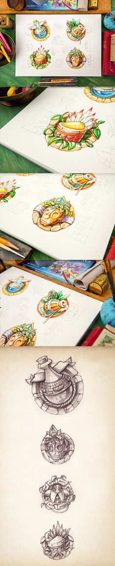 Gorgeous icons and illustrations by Mike from Prague.