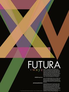 Futura Poster [2009] by Nathan Wells, via Flickr