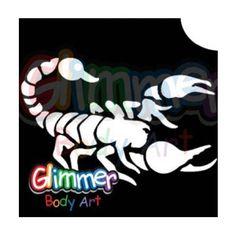 Glimmer Body Art Glitter Tattoos - Scorpion 1 (5/pack) by Glimmer Body Art…