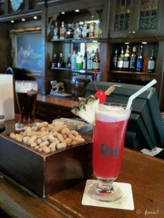 My all time Favourite is the Singapore sling @Johanna Trickovic Hotel Long Bar or homemade with a web recipe at Home which is done often.