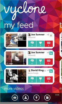 Vyclone, app WP8 para edição e partilha vídeo