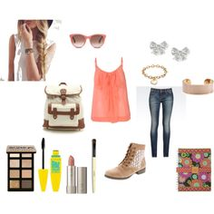 """""""back to school"""" by mercedesandhoss on Polyvore"""