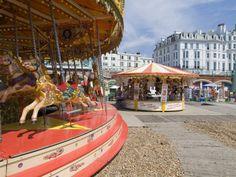 Carousel on the pebble beach