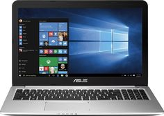 "Asus - K501UX 15.6"" 4K Ultra HD Laptop - Intel Core i7 - 16GB Memory - 256GB Solid State Drive - Metal gray. Brand Name :Asus. 16GB Memory. ASUS 4K Ultra HD LaptopPower through presentations, graphic design or heavy-duty gaming with this Asus laptop. The 15.6-inch screen ensures you get plenty of room to work, yet it folds up tight to pack into a backpack or laptop bag for easy transportation. with a special gift Wireless Fitness Activity and Sleep Tracker Smart Wristband."