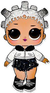 Chibi Kawaii, 5th Birthday Party Ideas, Surprise Birthday, Doll Party, Lol Dolls, Big Eyes, Funny Images, Paper Dolls, Baby Dolls