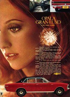 Publicidades antigas de carros: Opala
