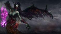 Dark Vampire  Morgana Wallpaper