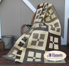Four Square Farmhouse Quilt Kit 2