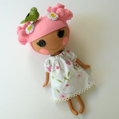 Lalaloopsy - the girls love theirs thanks to their special friend Leah! :)