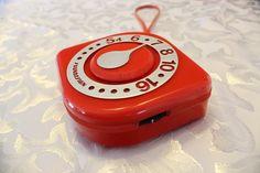 Vintage Orange Radio...
